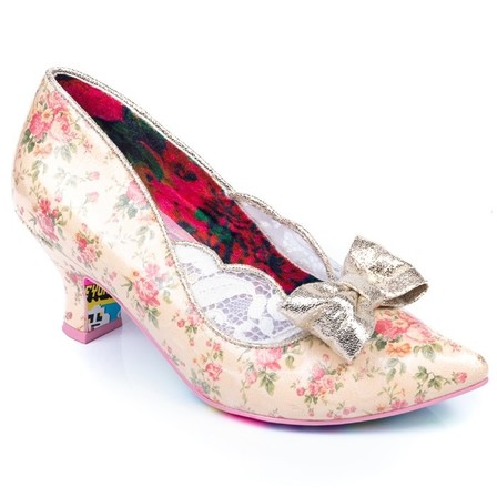 IRREGULAR CHOICE Marma Ladies Beige