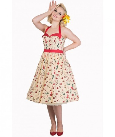 BANNED APPAREL New Romantics Halter Dress