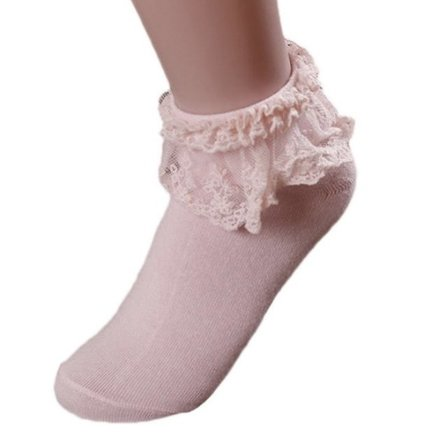 Dolly Days Ankle Socks Pink