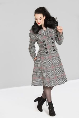 HELL BUNNY Pascale Coat Last One Size 22