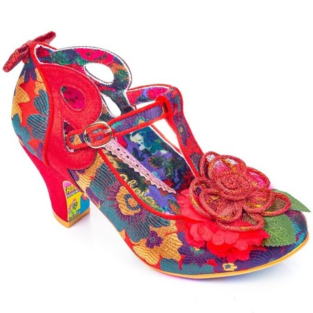 IRREGULAR CHOICE Sleepy Jean Red