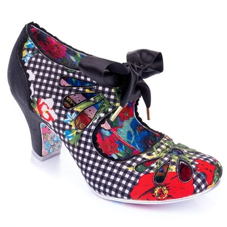 IRREGULAR CHOICE Sugar Plum Black
