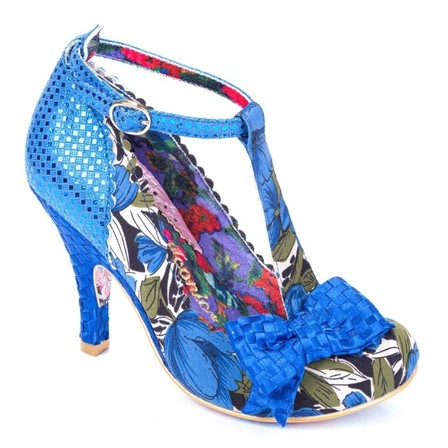 IRREGULAR CHOICE Bloxy Blue
