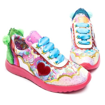 IRREGULAR CHOICE CARE BEARS Hugs Rule!