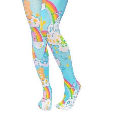 IRREGULAR CHOICE CARE BEARS Rainbow Tights