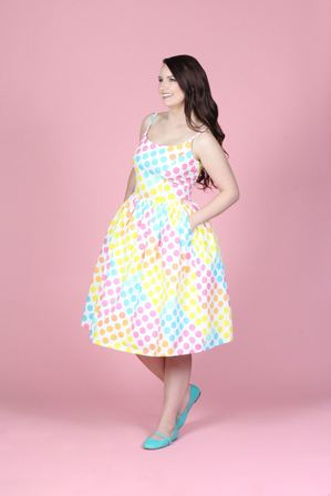 TATYANA BOUTIQUE Sandra Dress In Dot Candy