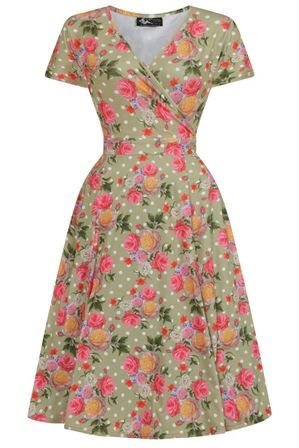 LADY VINTAGE Lyra Dress True Vintage