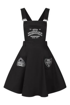 HELL BUNNY Samara Pinafore Dress