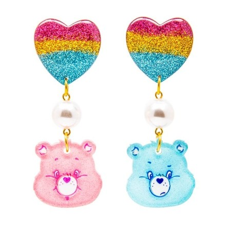 IRREGULAR CHOICE Care Bears Love A Grump Earrings