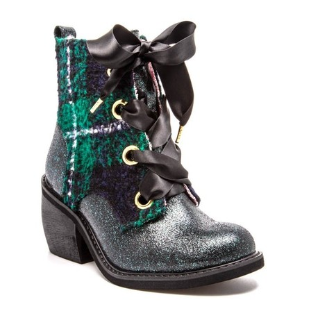IRREGULAR CHOICE Quick Getaway Boots Green Last One Size 41