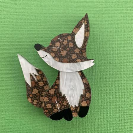WINTERSHEART Chester The Fox Brooch