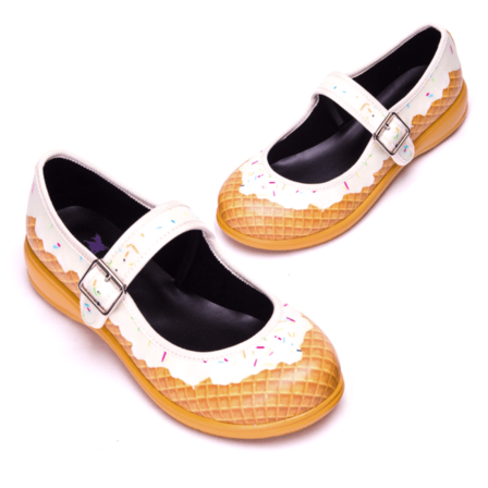 RAINBOWS AND FAIRIES Sundae Mary Jane Flats