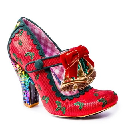 IRREGULAR CHOICE Jingle Belle Red