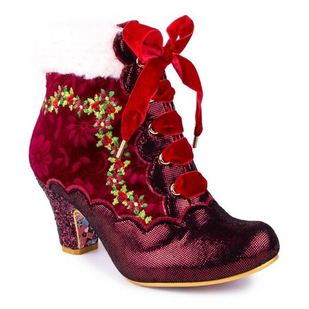 IRREGULAR CHOICE Hot Toddy Red
