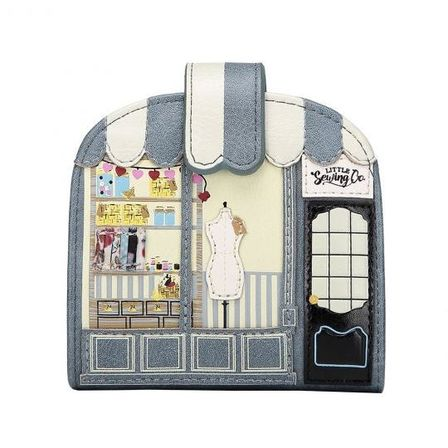 VENDULA Sewing Shop Clipper Coin And Card Purse
