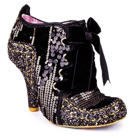 IRREGULAR CHOICE Winter Party Black