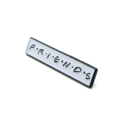 THE ROCKABILLY SHOP F.R.I.E.N.D.S Enamel Pin