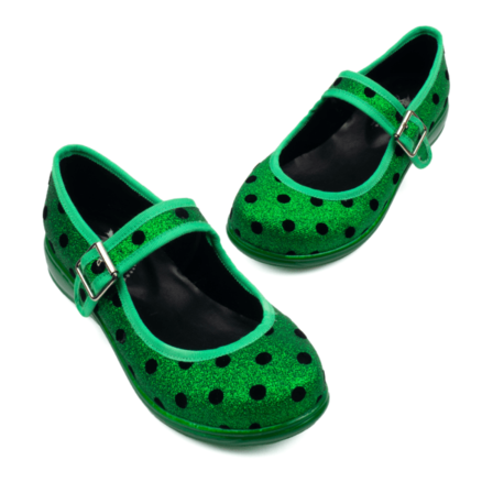 RAINBOWS AND FAIRIES Emerald City Mary Jane Flats