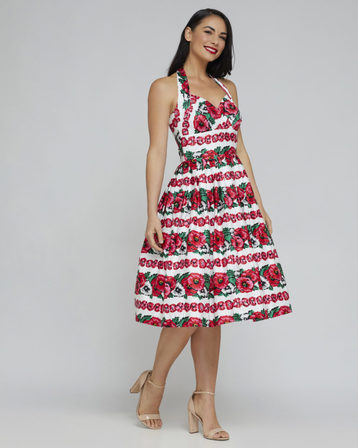 RETROSPEC'D Sophia Poppy Dress