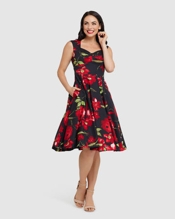 RETROSPEC'D Stella Ruby Rose Dress