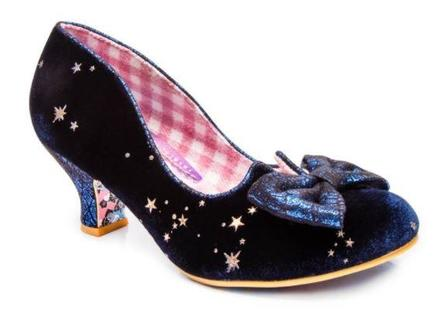 IRREGULAR CHOICE Dazzle Razzle Blue