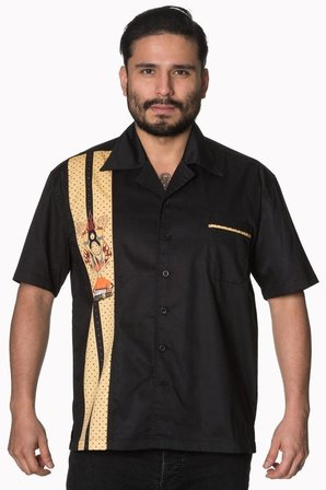 BANNED APPAREL Much Ado Short Sleeve Mens Shirt