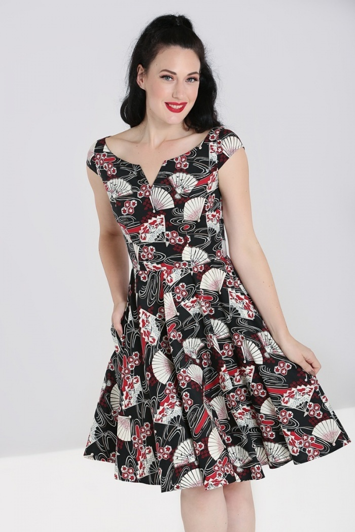 HELL BUNNY Lanah Dress