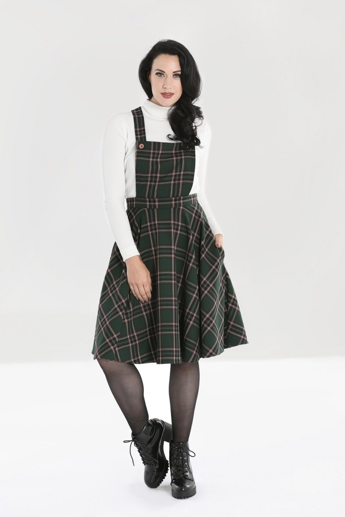 HELL BUNNY Miles Pinafore