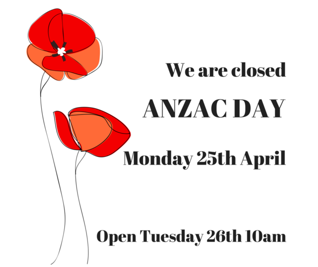 ANZAC DAY 25th April 2016
